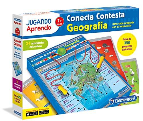 Clementoni- Conecta-Contesta Geografía