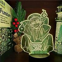 GMYXSW 3D LEDアニメランプ7色変更ナイトライトのナイトライトHanako Kun Lampara forクリスマスギフト-遠足