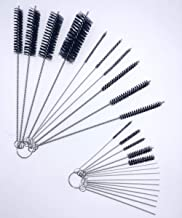 Small Nylon Brush Set Cleaning Brush Set forcleaning Drink Straws Humming,Bird Feeders Airbrushes,Paint Spray GunsTattoo Equipment Small Nozzles, Keyboards Sewing Machines Carburetor Passages(25pcs)