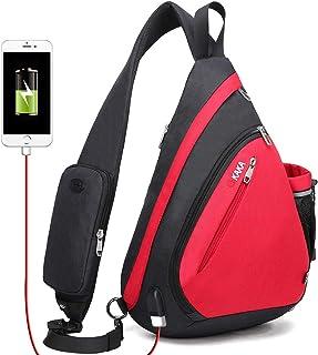 Cross Body Bag, Sling Backpack Shoulder Bag for Women Men by KAKA Bag