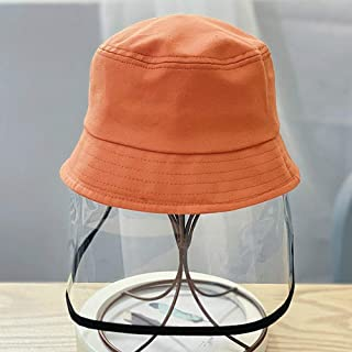 Kids Anti-dust Hat Anti-Fog Clear Shield Fisherman Cap for Outdoor Activities