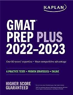 GMAT Prep Plus 2022-2023: 6 Practice Tests + Proven Strategies + Online