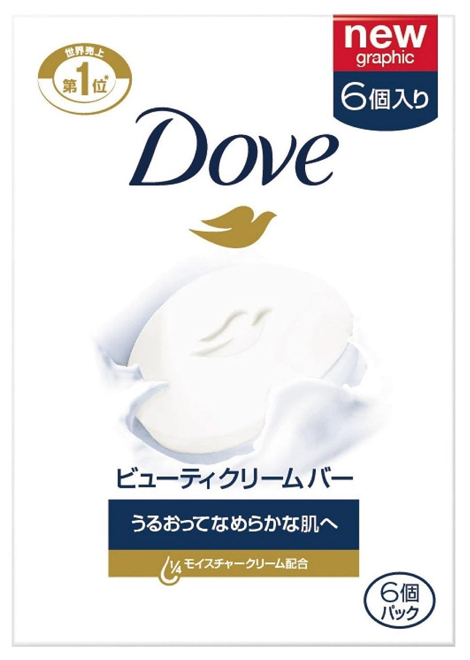アミューズメントアーティスト心理的Dove ダヴ ビューティクリームバーホワイト 95g×6個パック