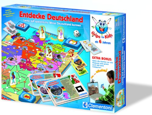 Clementoni 69898.1 – Retrouvez Allemagne (Webcam Fonction)