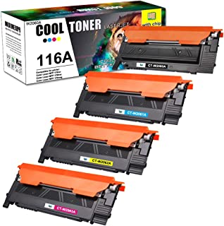 Cool Toner Compatible Toner Cartridge Replacement for HP 116A W2060A Color Laser MFP 178nw 179fnw 178nwg 179fwg 150a 150nw...