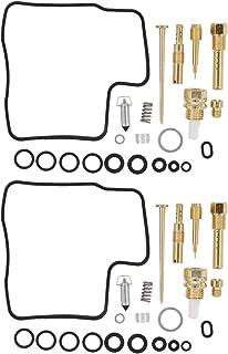 MOTOKU Pack of 2 Carburetor Rebuild Carb Repair Kits for Honda Shadow Spirit ACE 750 VT750C VT750CD VT750DC