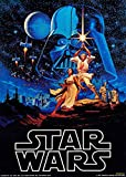 35.5 X 23.5 Inch Framed Star wars IV 4 Retro Large Moive Poster