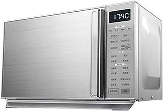 Horno Microondas Digital, 25 litros Horno Microondas De Pantalla Plana 900 W/con 5 Niveles De Potencia/Menú De Cocción Automática/Fácil De Limpiar/Reloj Y Temporizador/Descongelación Automática