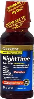 Good Sense NiteTime Cold & Flu Relief Cherry 8oz Case Pack 12
