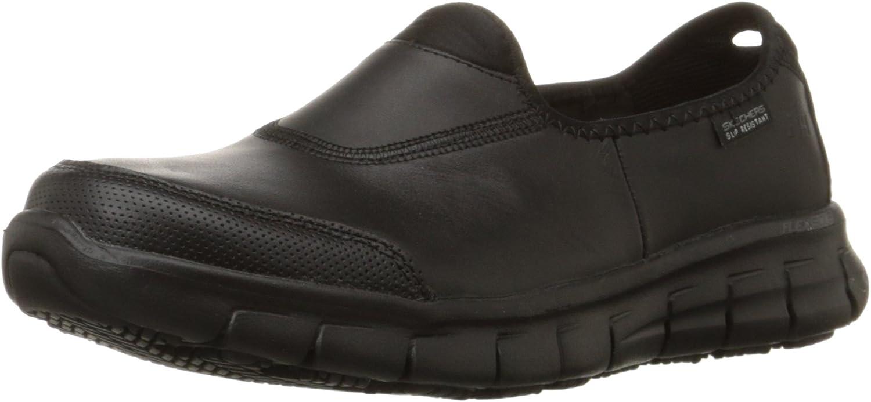 Skechers für Arbeit 76.536 Sure Track-Rutschhemmende Schuh