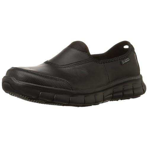 53af34d70f4 Skechers for Work Women's Sure Track Slip Resistant Shoe