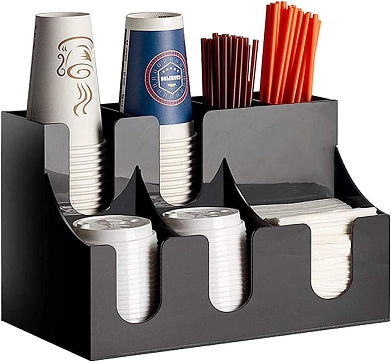 ZXNRTU Mail order Lightweight and Durable Coffee Condiment Direct sale of manufacturer 7 Organizer Com