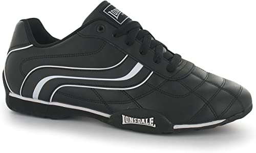Lonsdale Herren Turnschuhe Turnschuhe Trainers Schuhe Freizeit Sport NEU Camden