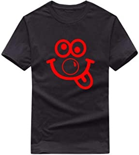 StitchPrint Red Nose Day Face T-Shirt, Comic Relief Funny Celebrate Gift Kids & Adult Top