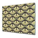 Coloray Tabla De Cortar Placa De Induccion 60x52cm Protector Vidrio Templado Cocina Para Servir Platos - Abstractdeco