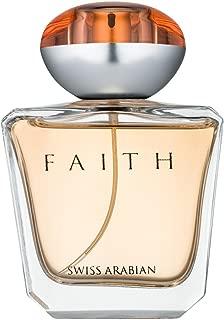 SWISSARABIAN Faith, Eau De Parfum for Women 100mL | a Floral Perfume, Fruity Heart with a Sultry Coconut and Sandalwood Base | by Fragrance Artisan Swiss Arabian | EDP Spray