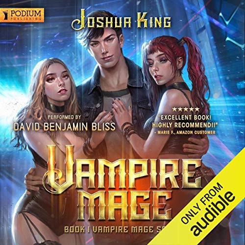 Vampire Mage, Book 1 cover art