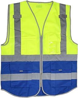 Kit de seguridad para autom/óvil Equilibre et Aventure incluye chaleco amarillo seg/ún normativa EN471 y tri/ángulo de se/ñalizaci/ón con funda con cremallera