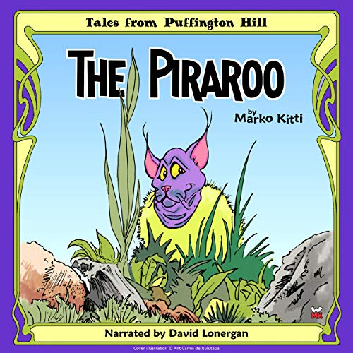 The Piraroo audiobook cover art