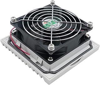 DKHF Fan Filtro de Ventilador de 24 V 116.5 mm con Ventilador de rodamiento de Bolas de 92 mm y Rejilla de Aire