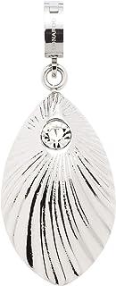 JEWELS BY LEONARDO DARLIN'S dameshanger Caprice, roestvrij staal met facet geslepen kristal, clip & MIX-systeem, grootte (...
