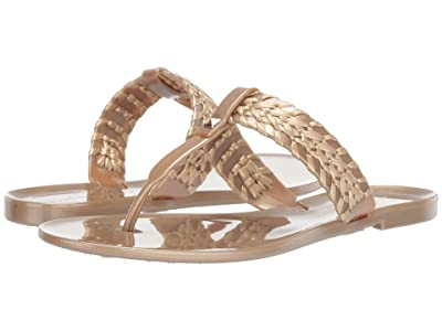 Jack Rogers Tinsley Jelly (Gold) Women