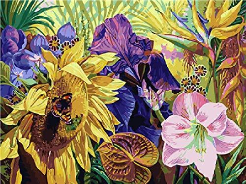 Olieverfschilderij digitaal om zelf te maken selecteer de honing als geschenk voor de decoratie thuis creatief en modieus, met de hand geschilderd olieverfschilderij op canvas 40 x 50 cm