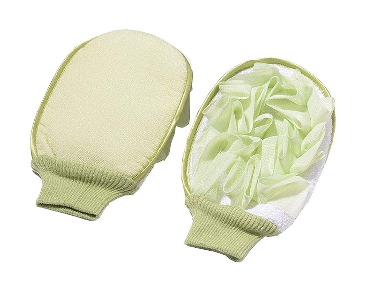 買う順応性タール強く清潔な入浴手袋