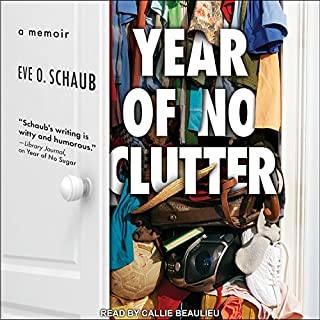 Year of No Clutter audiobook cover art