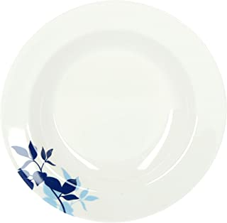 Delcasa DC1799 8 Round Deep Soup Plates - Pasta Plates - plate with playful Classic decoration - Ideal for Soup, Deserts, ...