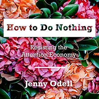 How to Do Nothing audiobook cover art