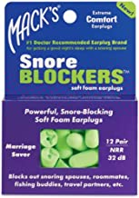 Protetor Auricular Espuma Macks Soft Foam Snore Blockers