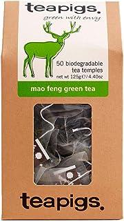 TEAPIGS Mao Feng Green Tea 125 g Pack of 1, Total 50 Tea Bags