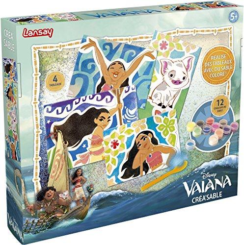 Lansay- Disney Vaiana Crea, 25105, Bleu