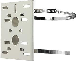 BeElion(TM) Universal Metal Pole Column Wall Mounting Loop Bracket for CCTV Security Camera PTZ Dome