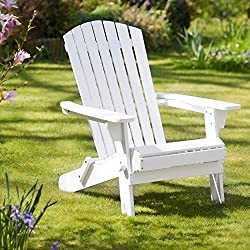Plant Theatre White Adirondack Chair