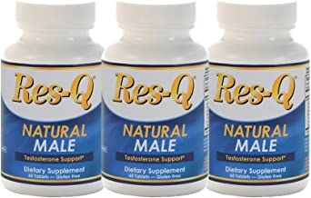 Res-Q Natural Male Testosterone, 60 tablets, 3-Pack