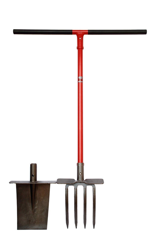 EDT tools, horca y palote cavador (Rojo): Amazon.es: Bricolaje y ...