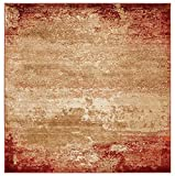 Luxe Weavers Howell Collection Red Abstract 5x7 Area Rug