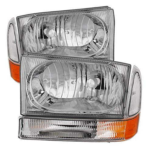 for 99-04 F250 F350 F450 Superduty 99-04 Excursion Headlights