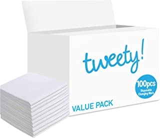 Tweety Disposable Changing Mats Value Pack (100 PCS)