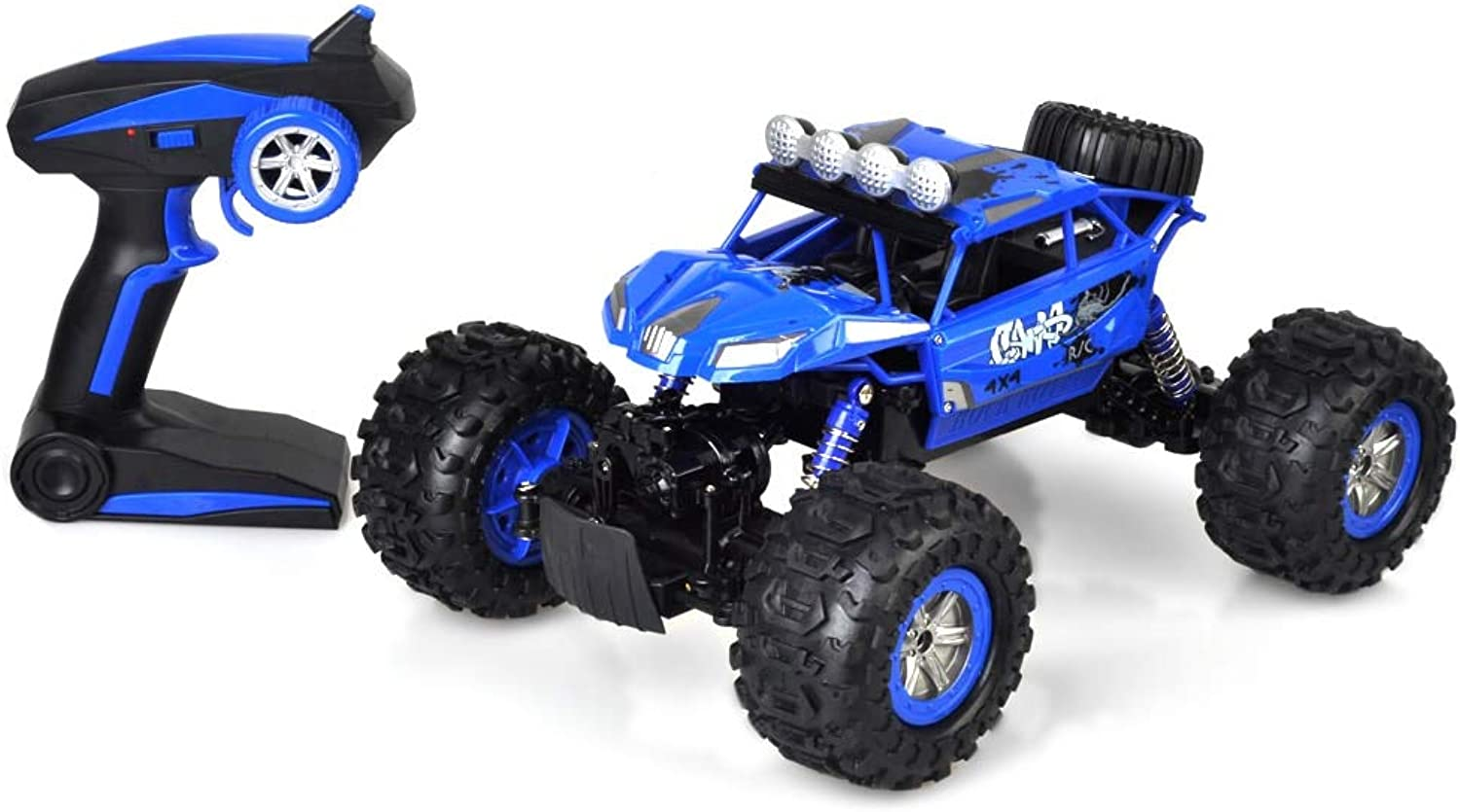 Generic s RC Cars 2.4G 1 12 Waterproof Amphibious RC OffRoad Crawler Car 4 WD IPX4 50m Control Distance Remote Control Car Gift bluee