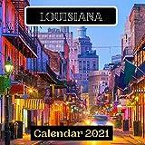Louisiana Calendar 2021