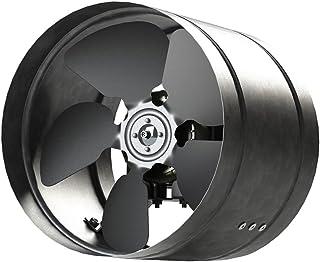 Conducto Inline 315mm fan de zinc de metal chapado en ARW la