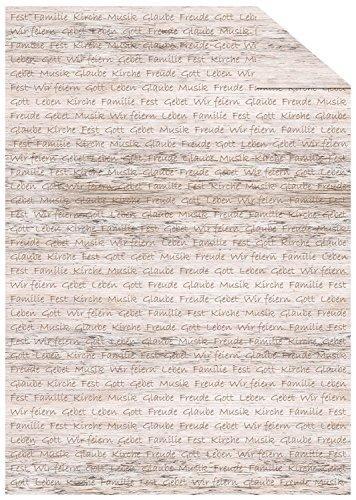 Ursus 13134602 - Fotokarton Hope, 300 g/qm, Din A4, Schrift, 10 Blatt