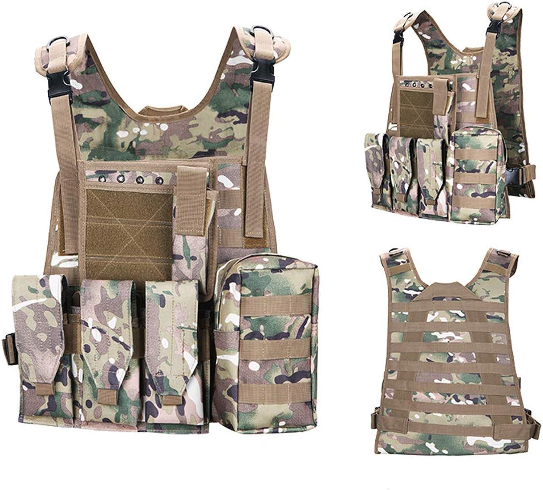 MultiFunctional Tactical Vest Outdoor CS Field Equipment