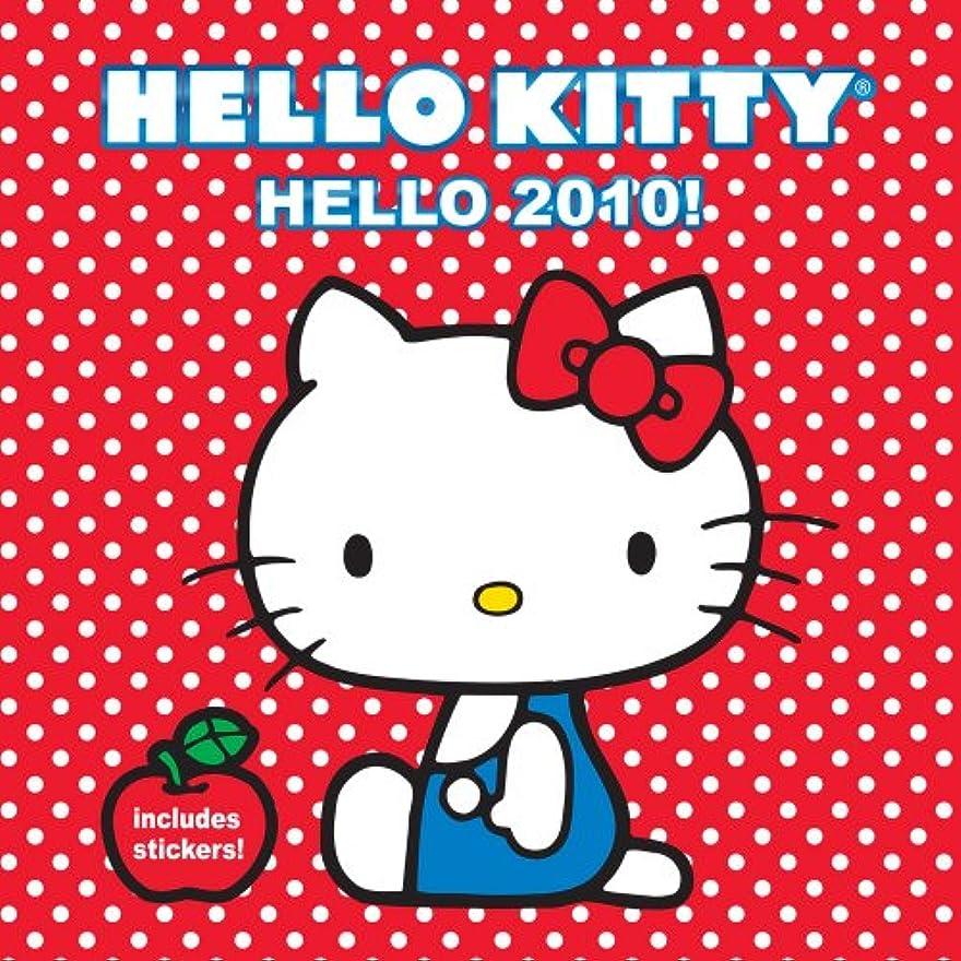 ドループ広々チップHello Kitty Hello 2010! Wall Calendar