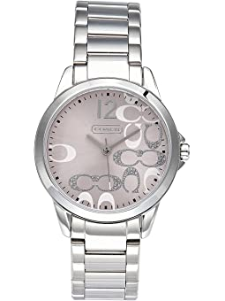 COACH Classic Signature,Stainless Steel