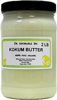 32 Oz/ 2 Lb Premium Kokum Butter RAW 100% Pure Organic