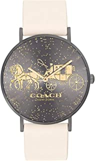 Coach Perry Chalk Leather Ladies Watch - 14503327